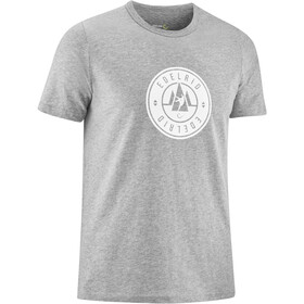 Edelrid Highball IV T-Shirt Heren, grey melange